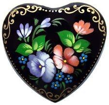 COEUR Broche russe Cadeau pour Femme Petit prix, Broche Fleurs en forme de cœur