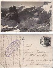 # FORCELLA FONTANA NEGRA - RIFUGIO CANTORE VERSO CRODA DA LAGO E PELMO  1929