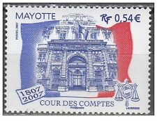 mayotte ca 2007 Bicentennial monument Audit Office french flag  1v mnh **