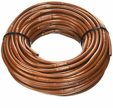 "Micro Drip-Line Irrigation Hydroponics Tubing 1/4"" 100 ft. 6 in. Emitter Spacing"