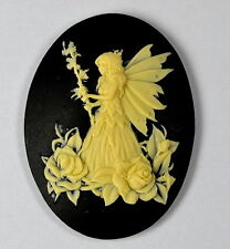 FAIRY cameo SILICONE MOULD Cupcake polymer clay chocolate resin fimo mold ELF