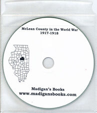 McLean Co Illinois IL WWI genealogy history Bloomington Normal