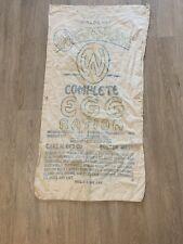 WW2 Egg Ration Sack