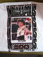 Lyn St James 1994 Indianapolis 500 Race Tshirt Xl New