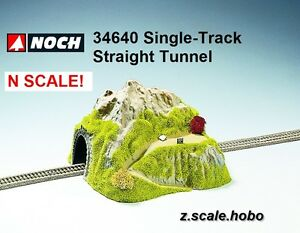 NOCH 34640 N Scale Single Track Straight Tunnel Scenery NEW *USA Top Dealer
