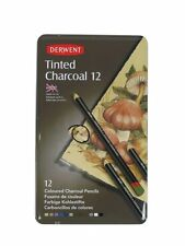 Derwent Tinted Charcoal 12 Lápices De Estaño