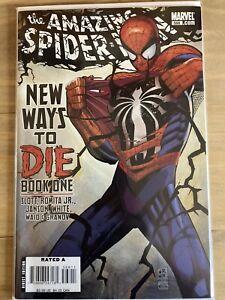 Amazing Spider-Man (2008) #568 New Ways to Die Pt 1, Thunderbolts, 1st Print, VF