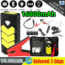 16800mAh Car Jump Starter Portable USB Quick Charger 12V Auto Battery Booster UK