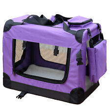 Transportín Perro para reisebox Auto GATOS Caja L Violeta