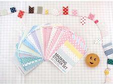 27 sheets Pastels style masking label sticker ST040