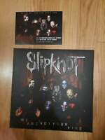 Slipknot folder with Posters from VIP Gift Box + flyer knotfest