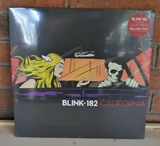 BLINK -182 California,  Ltd 1st Press 180G RED Colored Vinyl LP NEW + Download