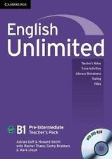 English Unlimited Pre-Intermediate Teacher's Pack (teacher's Book With Dvd-Ro...