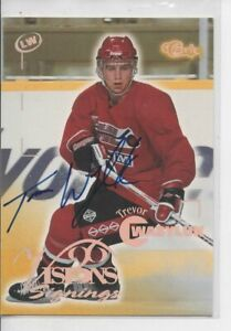 1996 CLASSIC TREVOR WASYLOK VISION SIGNINGS AUTOGRAPH