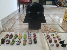 Angry Birds Go Race Cars and Star wars telepods with Darth Vader Case Lot