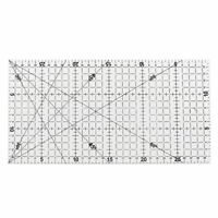 30x15cm Quilting Sewing Patchwork Foot Aligned Ruler Grid Tailor Craft Scale D4U