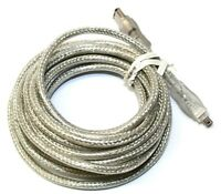 Dynex DX-C112231 Firewire 400 1394a 4-Pin to 6-Pin Cable Connector Cord 14FT