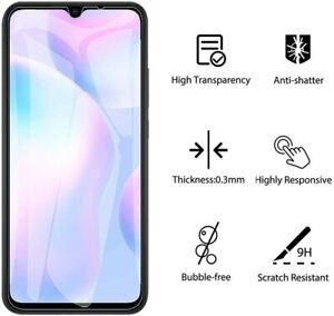Schutzglas Glasfolie für Xiaomi Redmi 9A / 9C Display Schutz Folie Panzerfolie