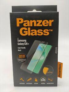 PanzerGlass Displayschutz Schutzglas f. Samsung Galaxy S20+ transparent/schwarz