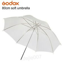 2pc Godox 80cm Studio White Diffuser Soft Umbrella Translucent for Flash Lamp