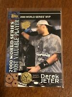 2000 World Series Topps Baseball Base Card #100 - Derek Jeter - New York Yankees