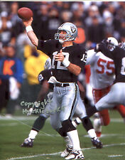 RICH GANNON photo in action Oakland Raiders (c) Super Bowl