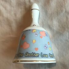 "2000 Precious Moments ""Love One Another "" Porcelain Bell Very Good Condition"