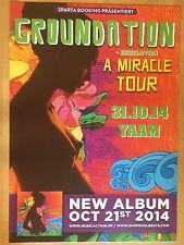 GROUNDATION 2014 BERLIN     ++  orig.Concert Poster - Konzert Plakat  NEU