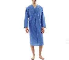 Stafford® Woven Nightshirt Bright Cobalt Stripe Size L #505-3357 JCP