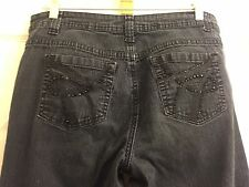 Passports Extra Cute Size 10 BlackWashed Blue Jeans