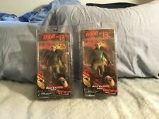 2 ASSORTED NECA/REEL TOYS FIGURES OF JASON VORHEES FRIDAY THE 13TH