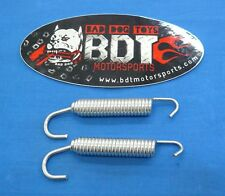 HONDA ATC 250R ATC250R BDT MOTORSPORTS HIGH TENSION EXHAUST PIPE SPRING 2pk NEW