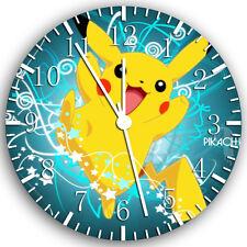 "Pokemon Pikachu wall Clock 10"" will be nice Gift and Room wall Decor Z66"