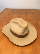 Vtg Stetson Cowboy Hat Felt Western Country Size 7 1/8