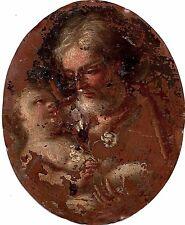 Crchia di Benedetto Luti - Olio su rame - XVI Secolo / (Stima 800 - 1500 euro)