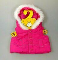 Build A Bear Kleidung Weste mit Kapuze Steppweste Winter