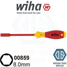 Wiha Socket Driver Wrench Screwdriver VDE Hex Nut Key Nut driver 8mm 1000v 00859