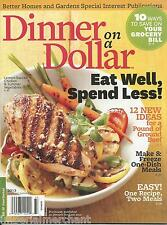 Dinner On A Dollar Magazine Burgers Casseroles Meatless Wings Breakfast Leftover