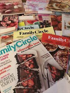 Lot Family Circle Magazines Lot Of 26