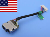 DC Power Jack In Cable Harness for HP ENVY x360 Touchsmart 15-u110dx 15-u111dx