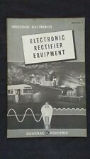 Vintage General Electric Industrial Electronics Electronic Rectifier Equipment