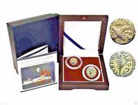 Trials of Saint  Paul - Two Bronze Prutah Coins in Beautiful  Presentation Box