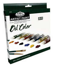 Royal Langnickel Aceite Color 24 X 12 Ml Tubo de pintura Box Set. Varios Colores