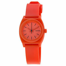 Nixon Round Polyurethane Band Wristwatches