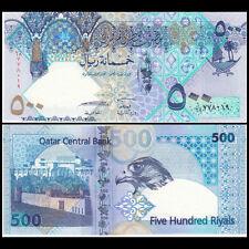 Qatar 500 Riyals, ND(2007), P-27, Hybrid, UNC