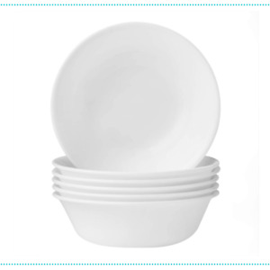 Corelle Soup Livingware Bowls Winter Frost White 6 Piece Set 532ml