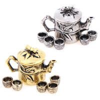 1:12 Miniature  6 pcs Tea Cup Set Kitchen Dollhouse FT