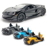 McLaren 600LT 2019 Supercar 1:32 Model Car Alloy Diecast Toy Vehicle Kids Gift