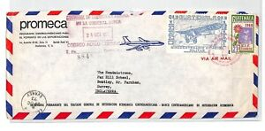 BT131 1973 Guatemala Commercial Air Mail Cover {samwells}PTS