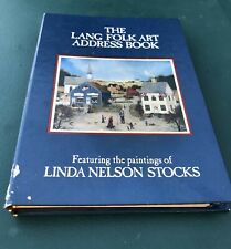 Vintage Lang Folk Art Address Book 1995 Linda Nelson Stocks